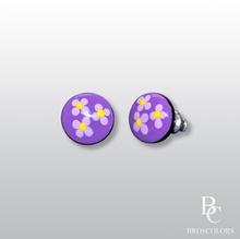Лилави цветчета