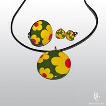 Комплект Керамични Бижута - Лятна Градина