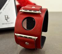 Каишка за Apple watch Тип гривна - ЧЕРВЕНА