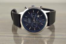 Мъжки часовник с каишка от естествена кожа BROSCOLORS