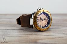 Кожена Каишка за Часовник Invicta от Естествена кожа Crazy Horse