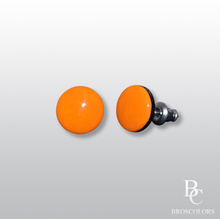 Оранжеви Обеци на Винт