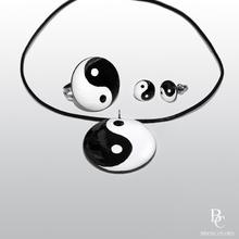 Инг и Янг - Комплект Ръчно Рисувани Бижута