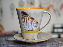 Керамични Чаши Ръчно Рисувани
