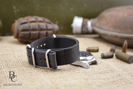 Zulu Каишка за Часовник (Сив цвят)