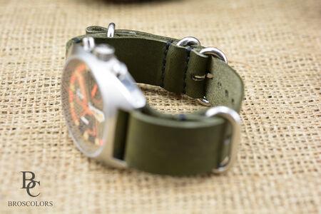 Zulu Каишка за Часовник (Зелен цвят)