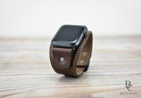 Кафява Каишка за Apple Watch 38/40мм и 42/44мм